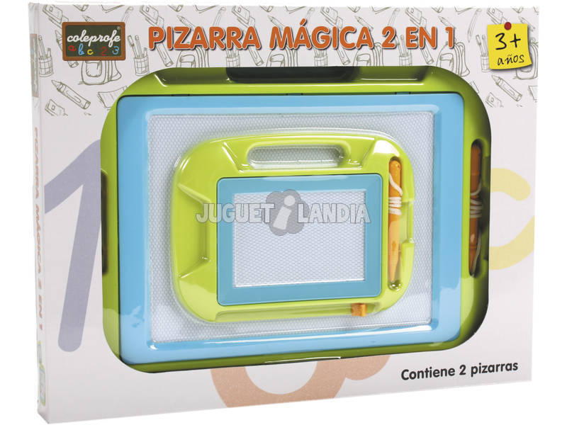 Pizarra Magica + Pequeña 2 en 1