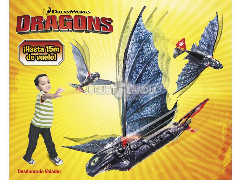 Dragones de Berk Desdentado Volador