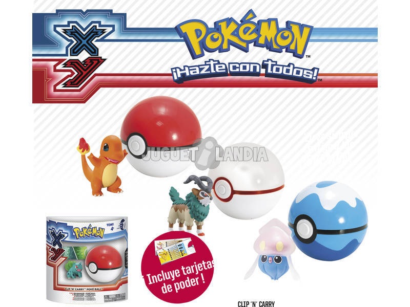 Pokemon XY Clip N Carry
