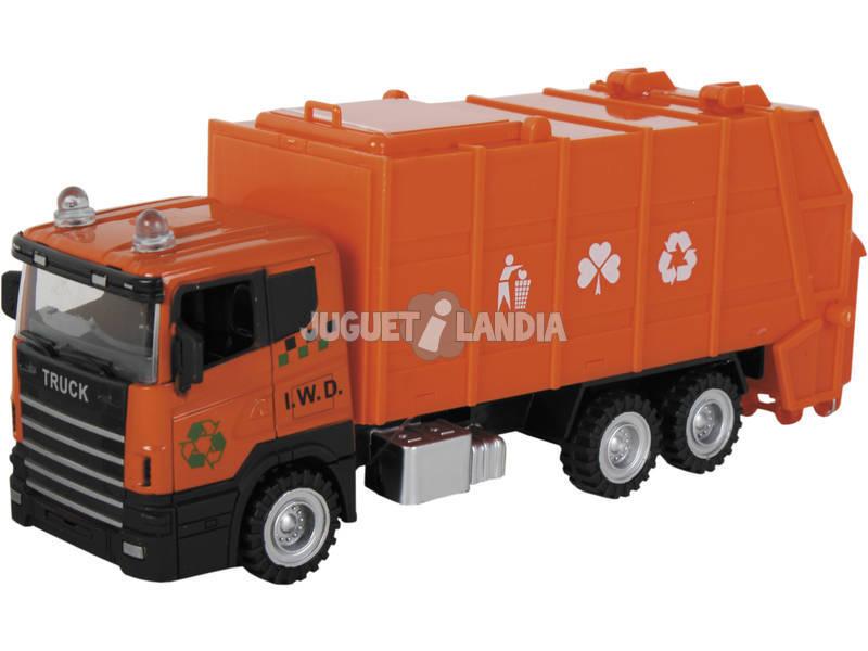 Camión de Juguete Recogida de Residuos 22 cm.