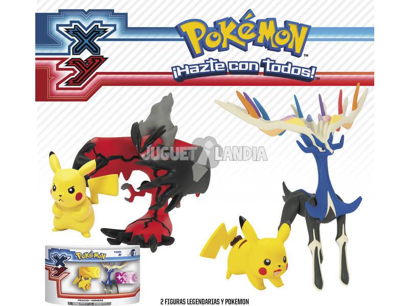 Pokemon XY Légèndaire et Pikachu