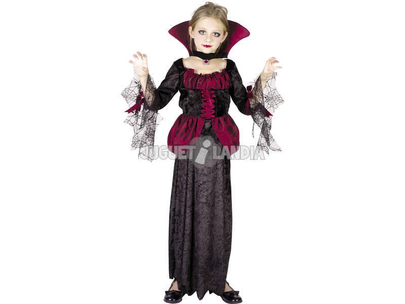 Maschera Vampiressa Bambina Taglia S