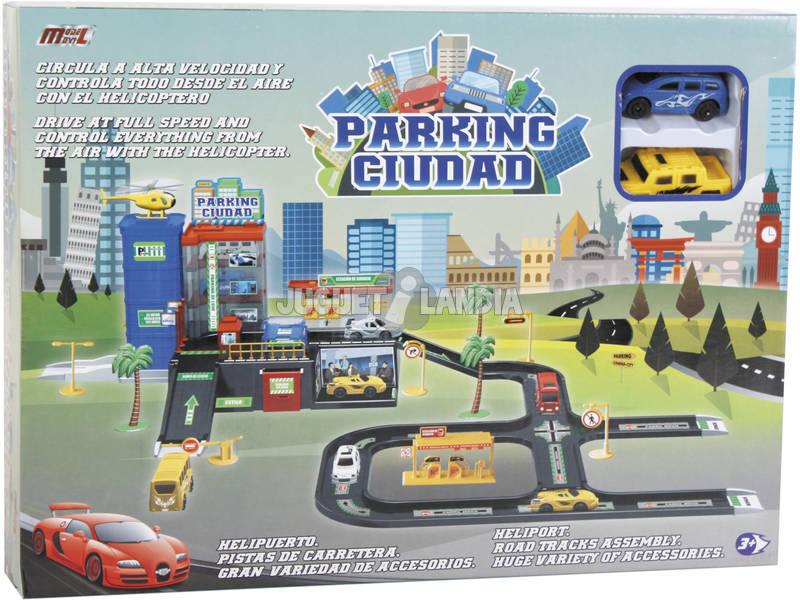 Parking Ville Avec 2 Voitures