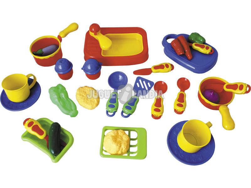 Acheter compl ments de cuisine 28 pi ces juguetilandia for Acheter des ustensiles de cuisine