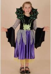 Disfraz Araña Niña Talla S