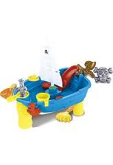 Nave Pirata 53 cm. con Accessori Spiaggia 12 pezzi