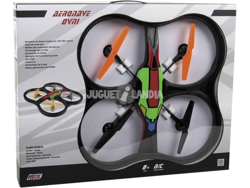 Rádio Controle Drone Aeronave 60 cm. 2.4 GHZ. Telecomando