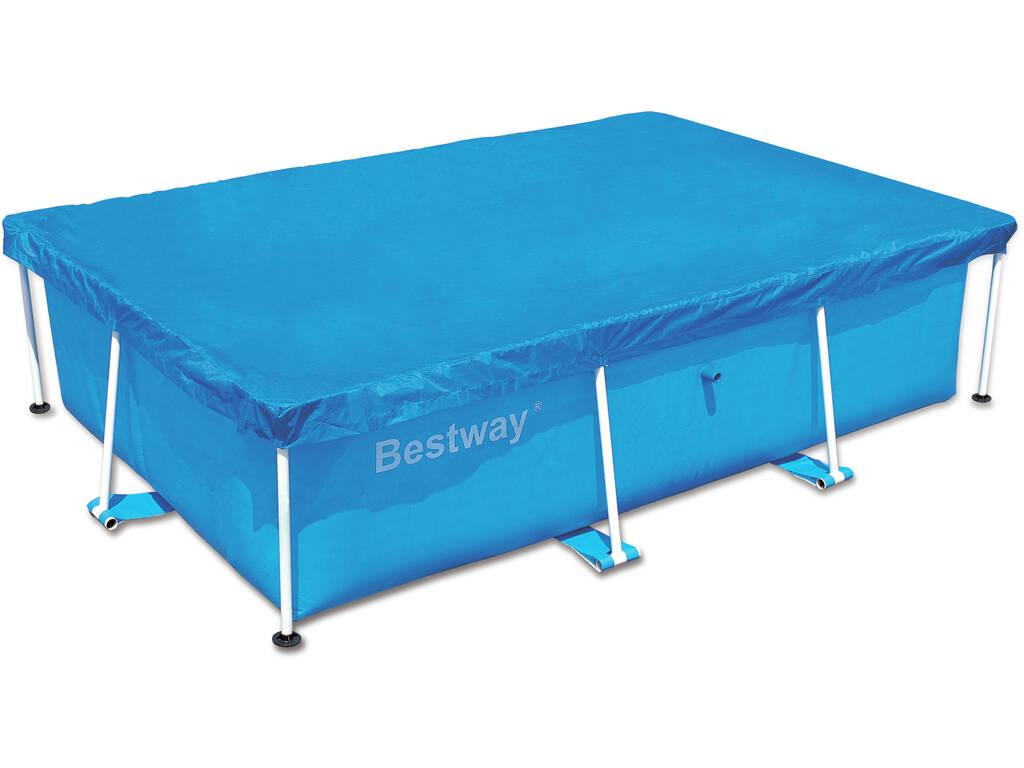 Cubierta para piscina de 259x170x61 cm bestway 58105 for Cubre piscina bestway