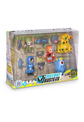 Mutant Busters Set Bataille 5 figurines