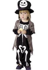 Disfraz Esqueleto Bebé Talla M
