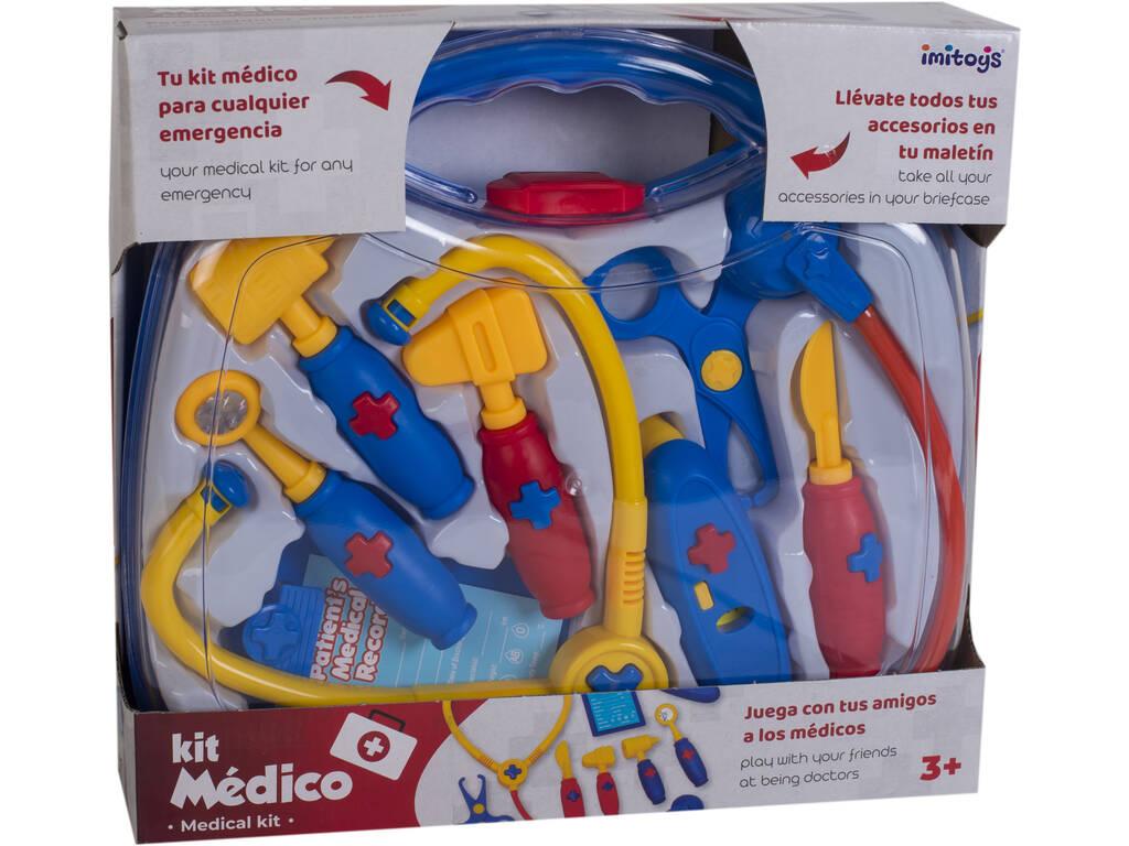 Maletín Médico Con Accesorios 29x26cm
