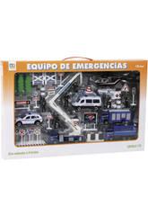 Conjunto Policia con Vehiculos y Accesorios
