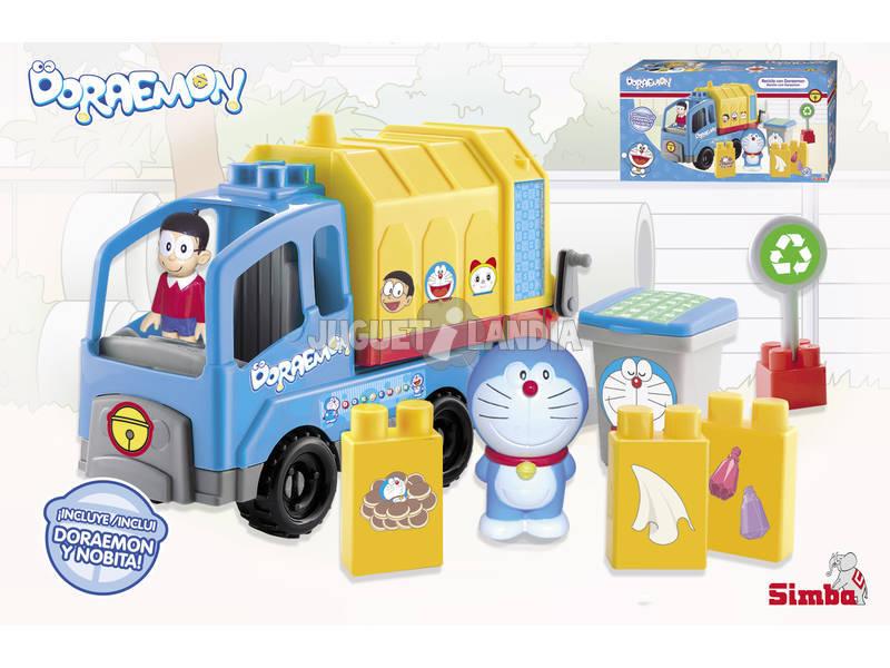 Doraemon Camion de Reciclaje
