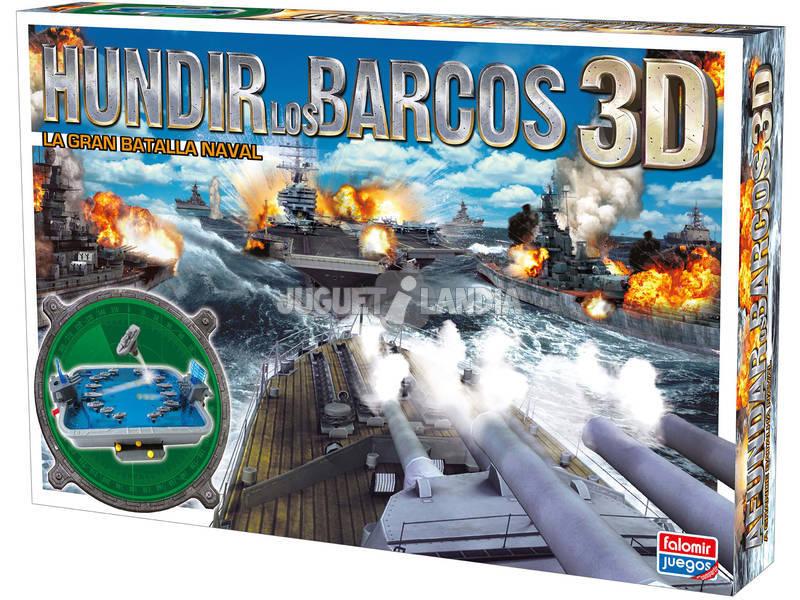 Aundar os Barcos 3D