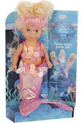 Muñeca Sirenita 27 cm.