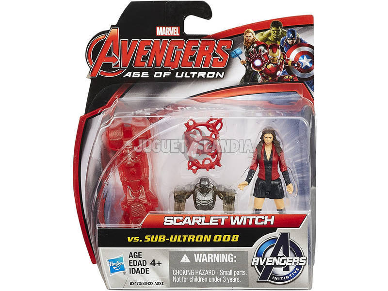 Avengers Figura 6 cm. Pack 2