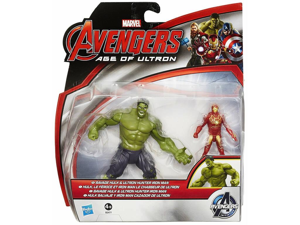 Avengers Figura De Lujo 6 cm. Hasbro B0448EU4