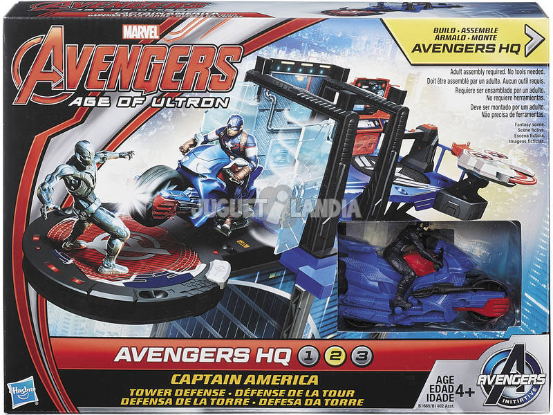 Mini Playset dos Vingadores