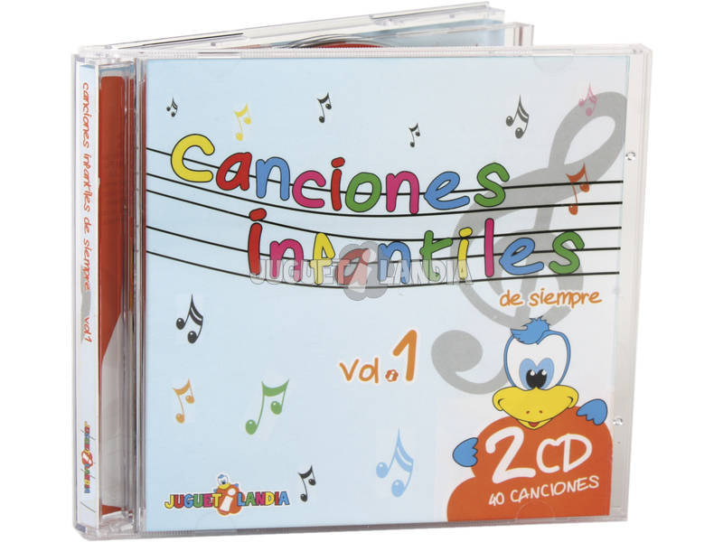 Cd Doppio Le Mie Prime Canzoni Vol.1