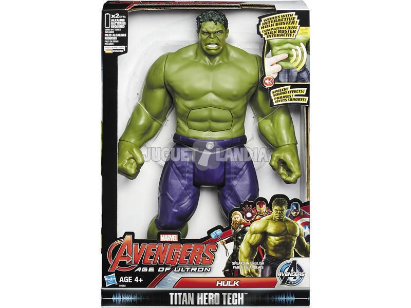 Avengers Hulk Electronico Titan Hero