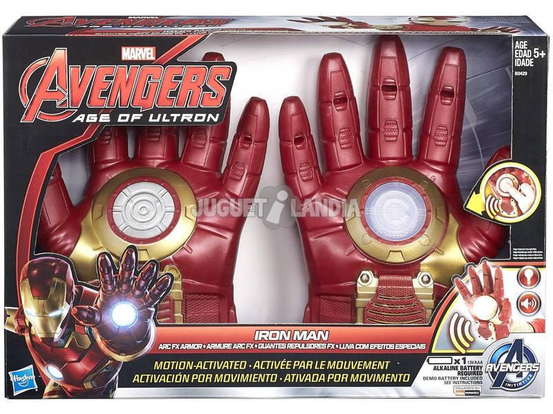 Avengers Iron Man Guantes