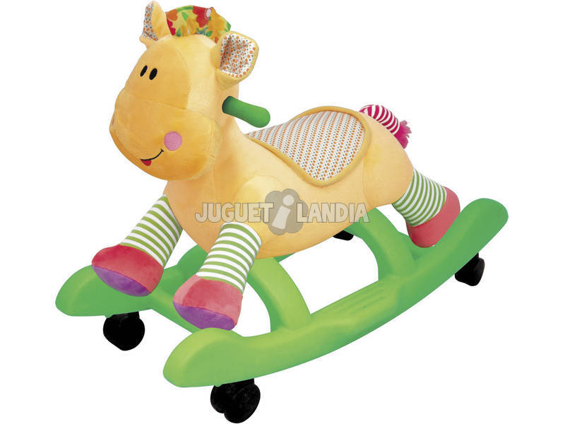 Veículo de Empurrar Baloiço Girafa Peluche
