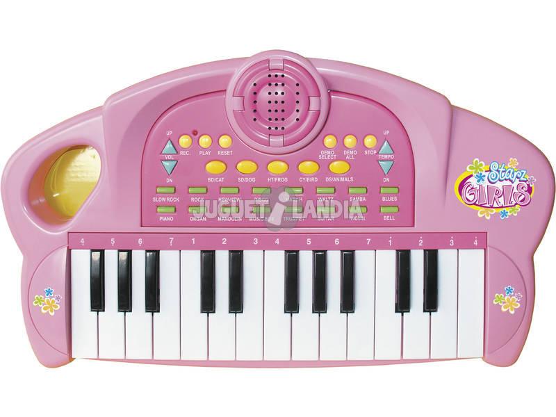 Teclado Electronico Starz Girls