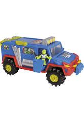 Mutant Mania. El camión + 1 figura