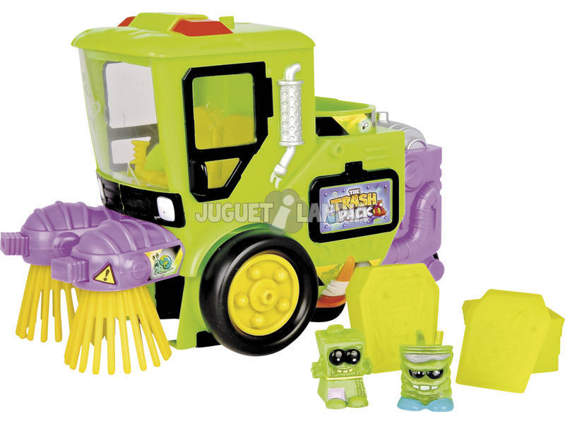 Trash Pack. Camion Atrape-zombies+2 Zombies