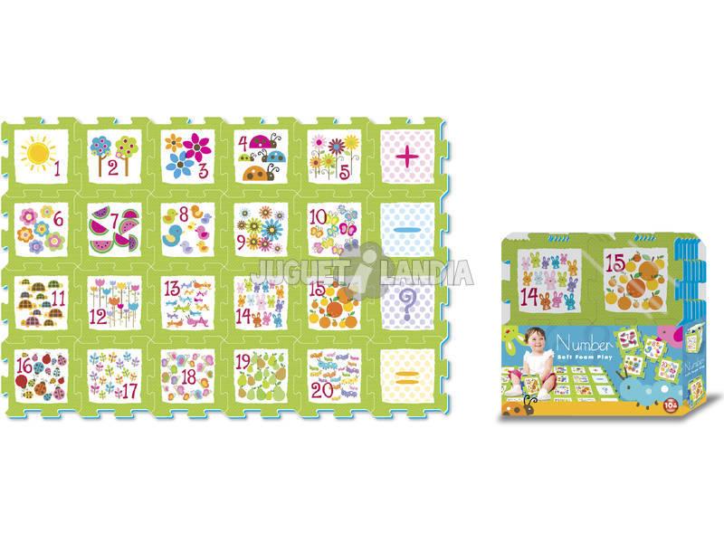 Set puzzle Eva 24 pzas. Numeros y Simbolos
