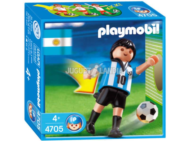 Playmobil Jouer de Football Argentine