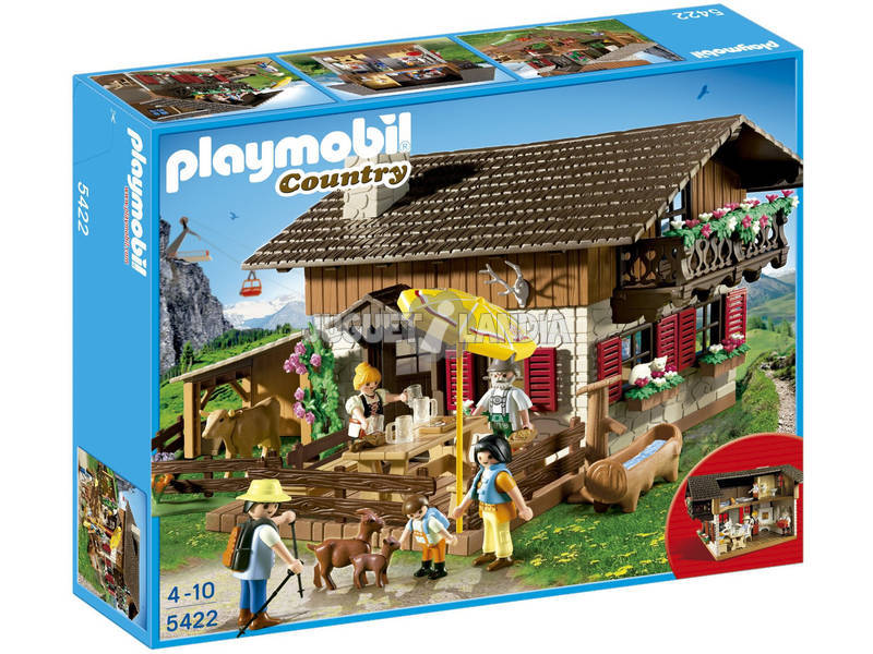 Playmobil Casa de los Alpes