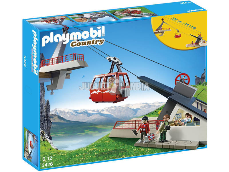 Playmobil Teleférico de los Alpes