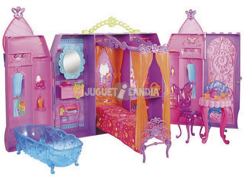 Barbie Castillo Portatil La Puerta Secreta