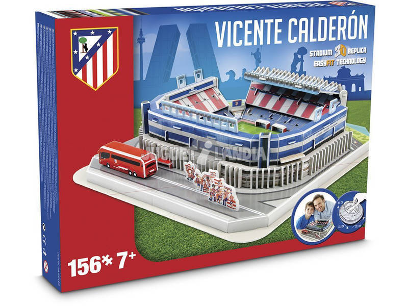Nanostad Atlético de Madrid Vicente Calderón - Juguetilandia 4d20c531a43