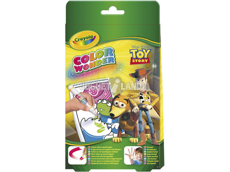 Toy Story mini album pour colorer avec les feutres