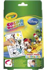 Club House mini album para colorear con rotuladore