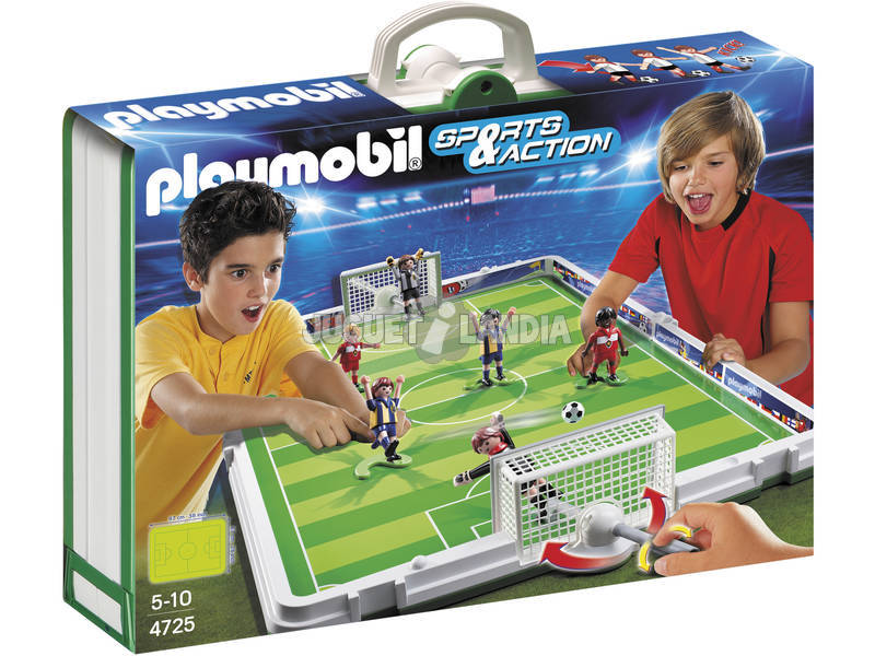Playmobil set de futbol maletin