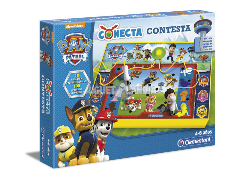 Conecta-contesta Paw Patrol Clementoni 55067