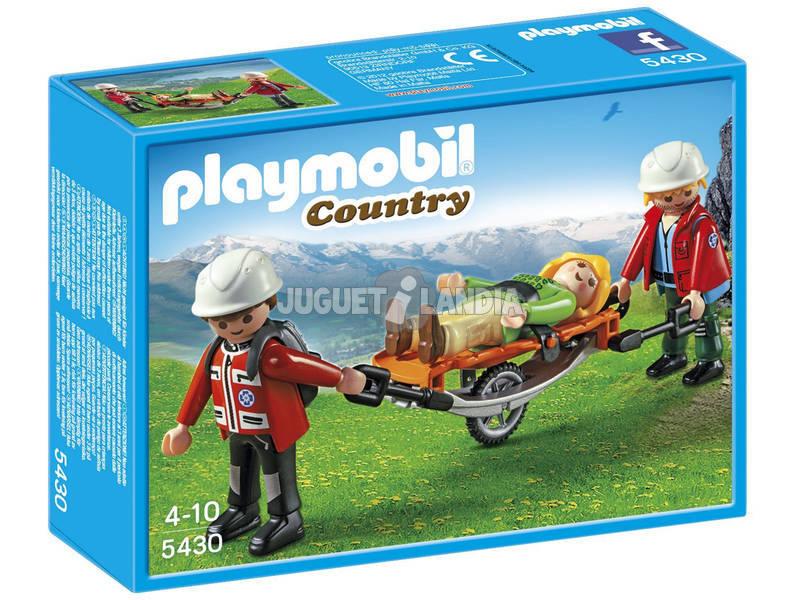 Playmobil Equipo Rescate de Montaña