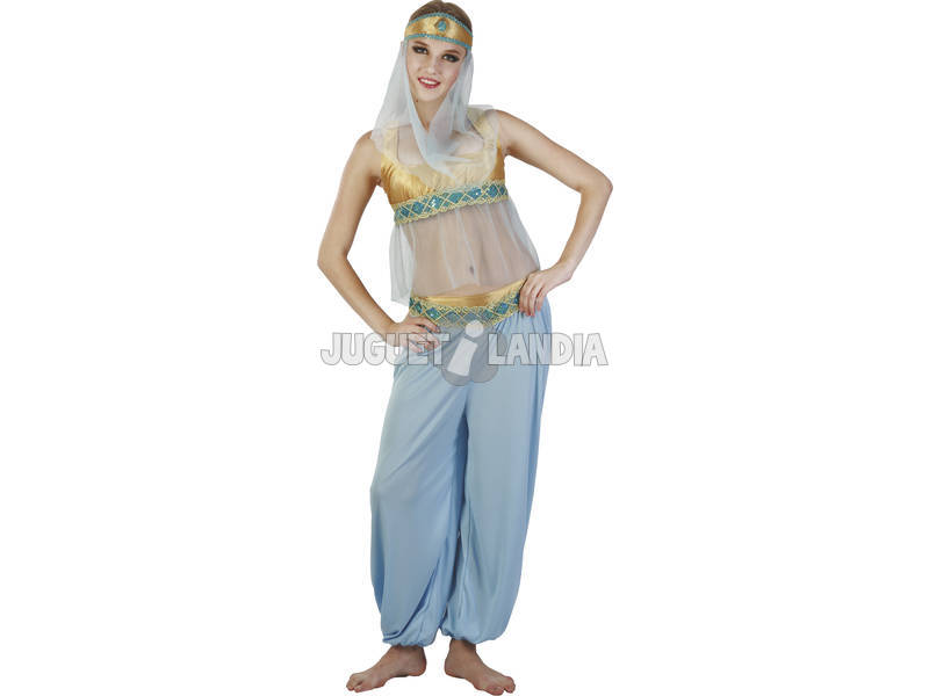 Fantasia Bailarina Árabe Yasmin Mulher Tamanho XL