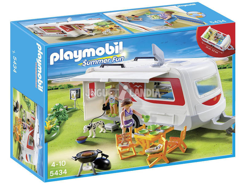 Playmobil Caravana Camping
