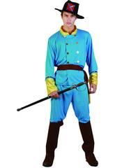 Disfraz Capitan Confederado Hombre Talla XL