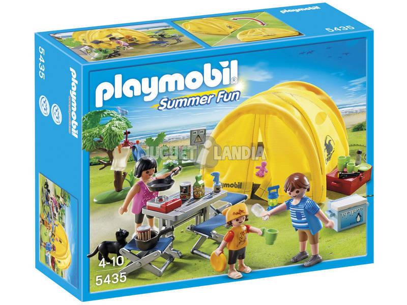 Playmobil Tienda de Campaña Familiar