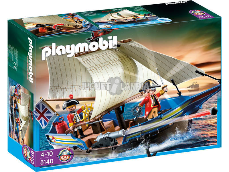 Playmobil Frégate Anglaise