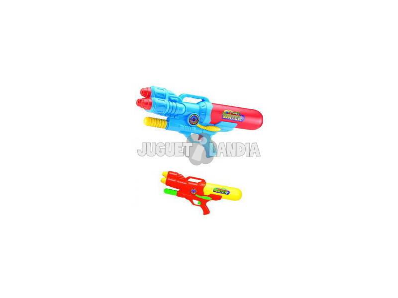 Pistola de agua 48 cm. Con bomba de aire