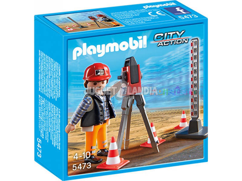 Playmobil Topografo