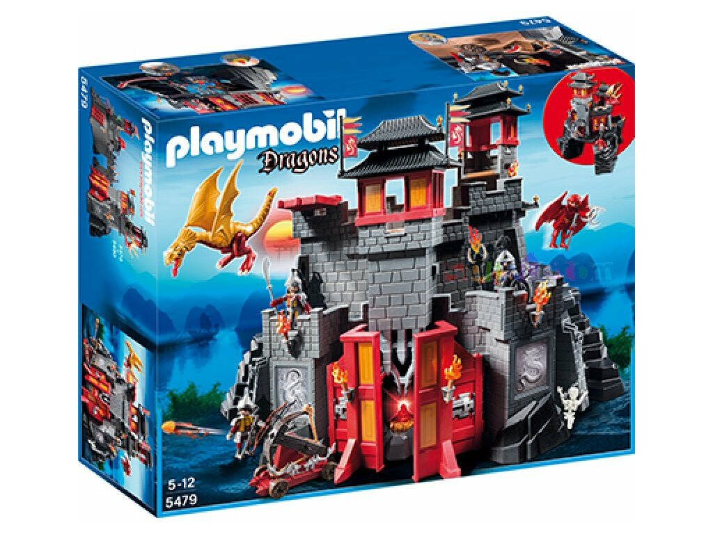 Playmobil Gran Castillo del Dragon Asiatico