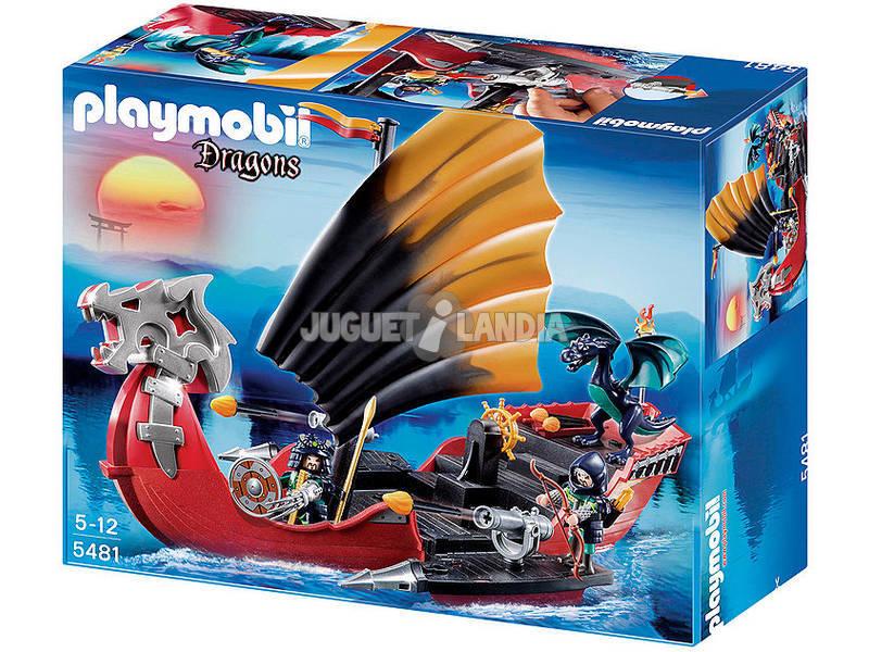 Playmobil Barco de Batalla del Dragon
