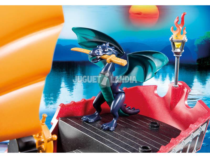 acheter playmobil bateau de bataille du dragon juguetilandia. Black Bedroom Furniture Sets. Home Design Ideas